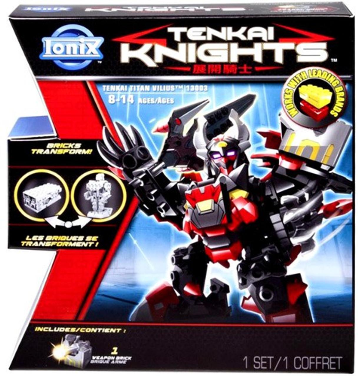 Tenkai Knights Tenkai Titan Vilius Set #13003