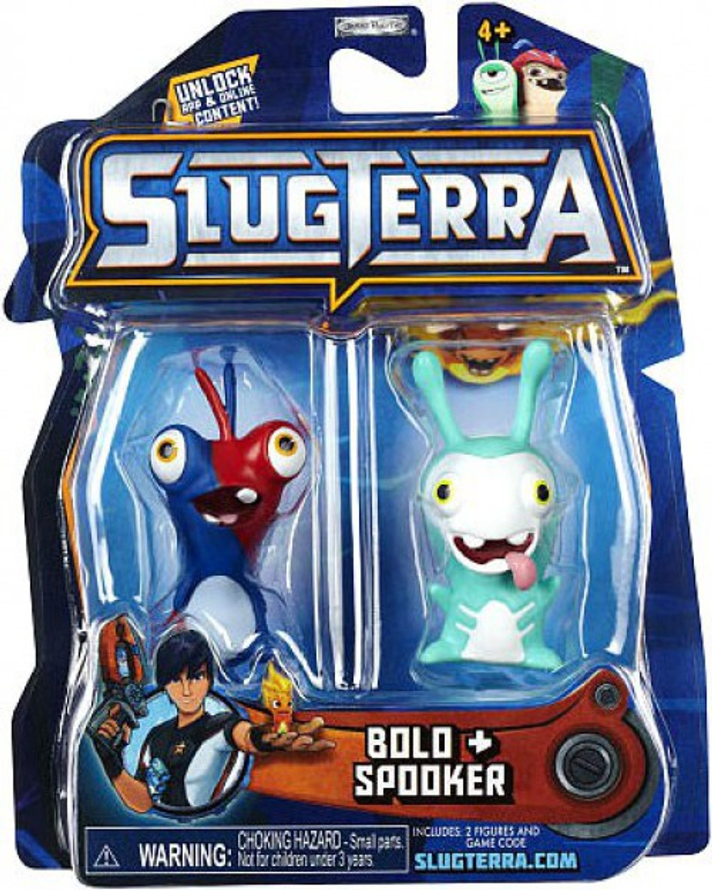 Slugterra Series 2 Bolo & Spooker Mini Figure 2-Pack