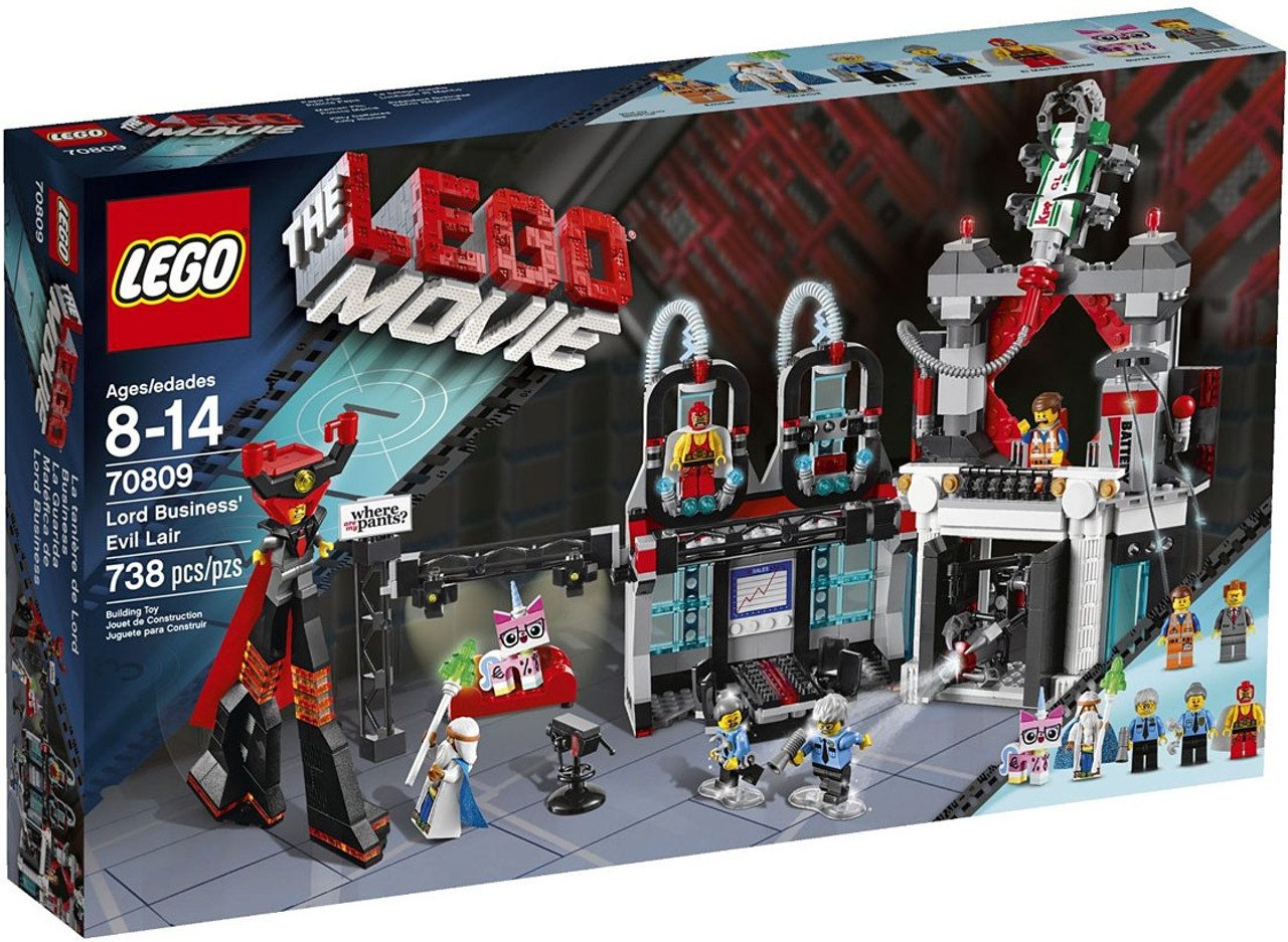 The LEGO Movie Lord Business' Evil Lair Set #70809