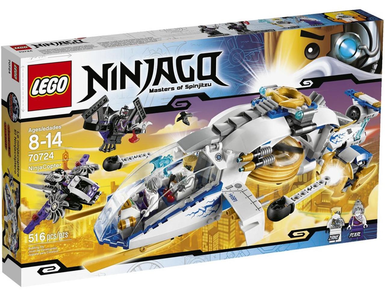 LEGO Ninjago Rebooted Ninja Copter Set #70724