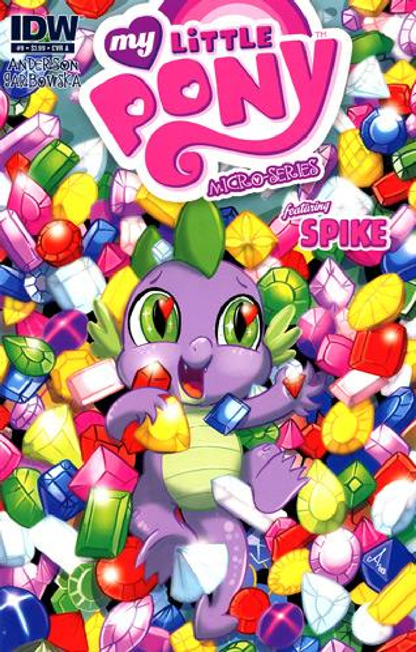 My Little Pony Micro-Series Featuring Spike Comic Book #9 [Cover A]