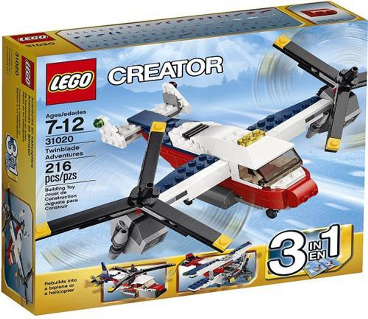 LEGO Creator Twinblade Adventures Set #31020
