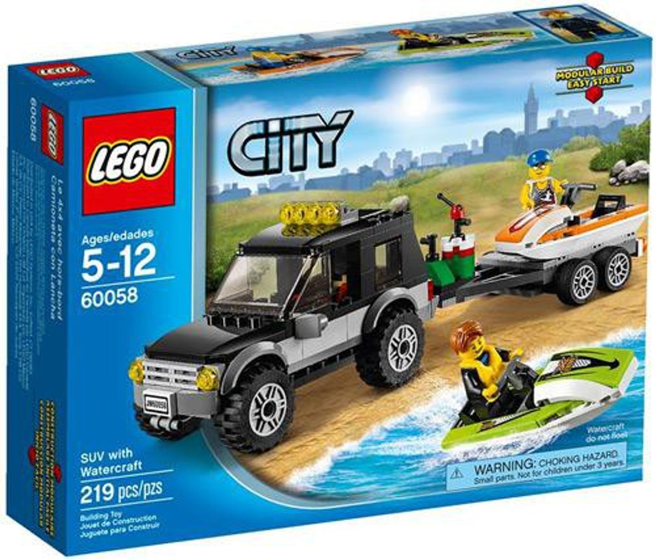 LEGO City SUV with Watercraft Set #60058