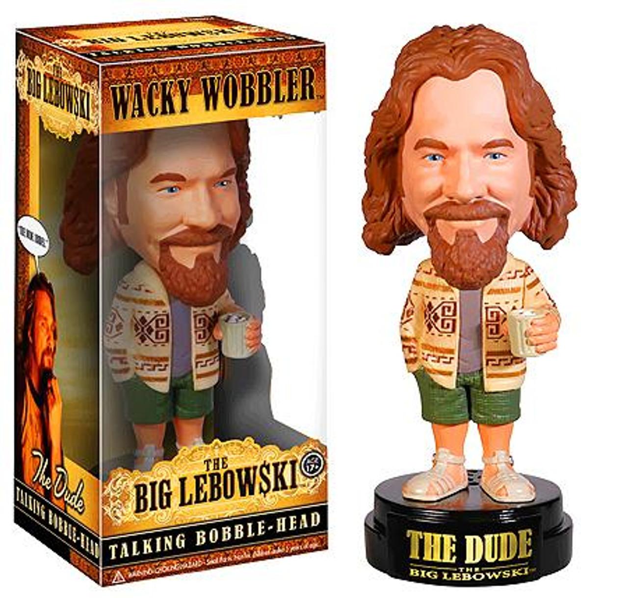 Funko The Big Lebowski Wacky Wobbler The Dude Talking Bobble Head