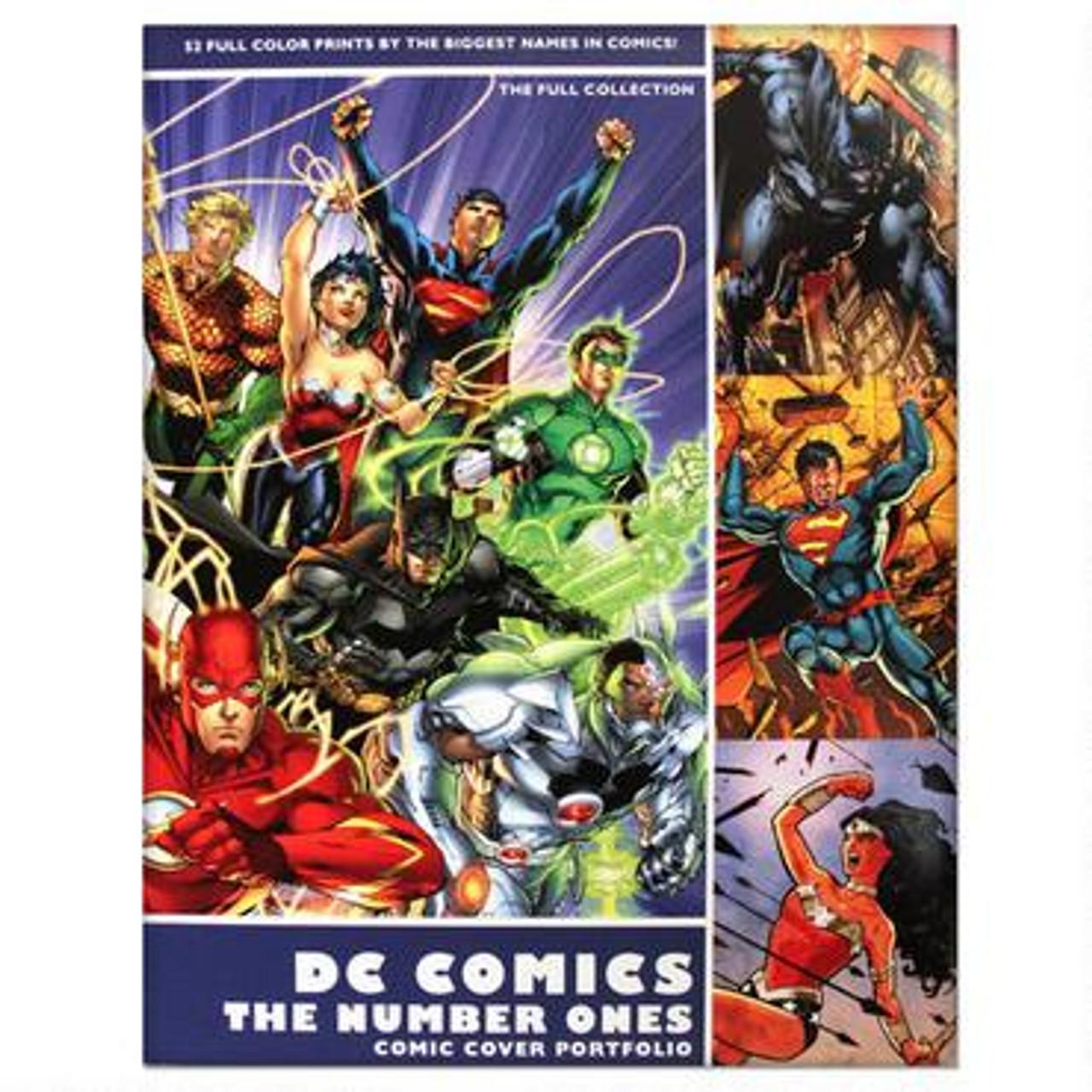 DC The Number Ones Comic Cover Portfolio Set