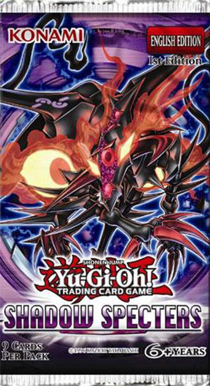 YuGiOh Shadow Specters Booster Pack