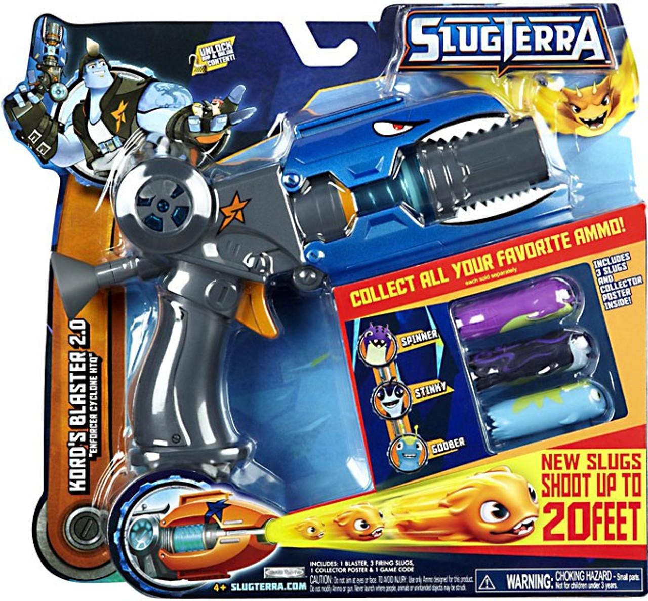 Slugterra Kord's Blaster 2.0 Exclusive Roleplay Toy [Enforcer Cyclone HTQ]