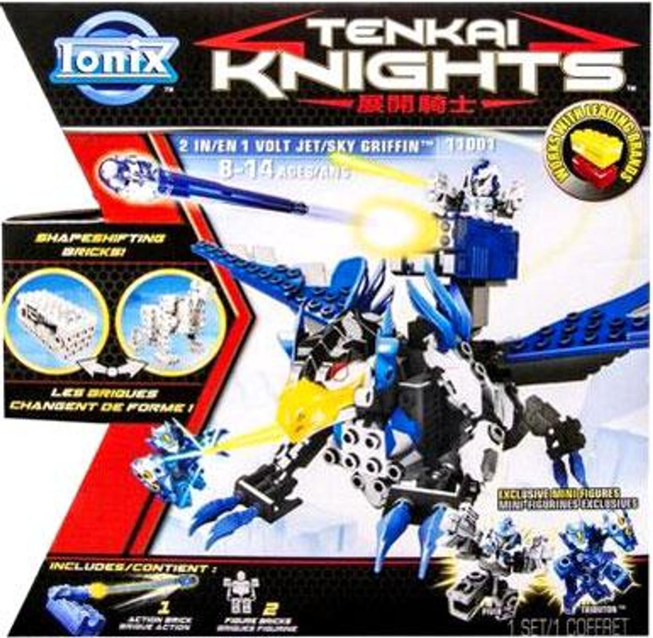 Tenkai Knights Volt Jet / Sky Griffin Set #11001