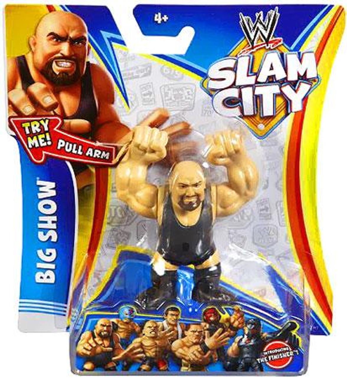 WWE Wrestling Slam City Big Show Action Figure