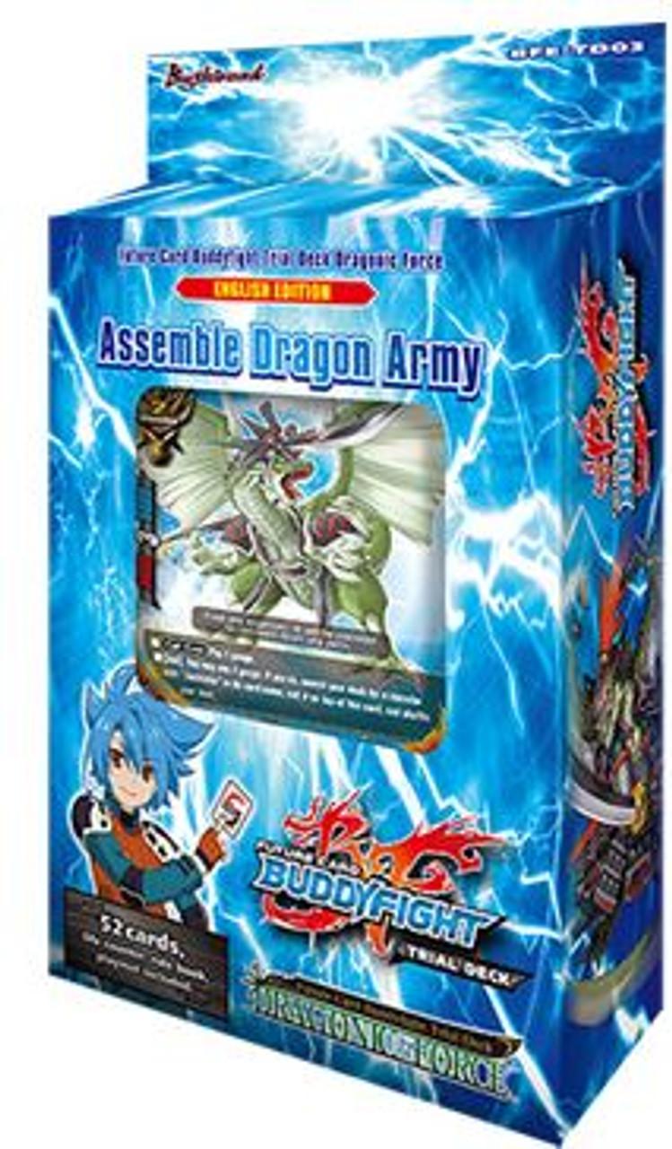 Future Card BuddyFight Dragonic Force Trial Deck BFE-TD03