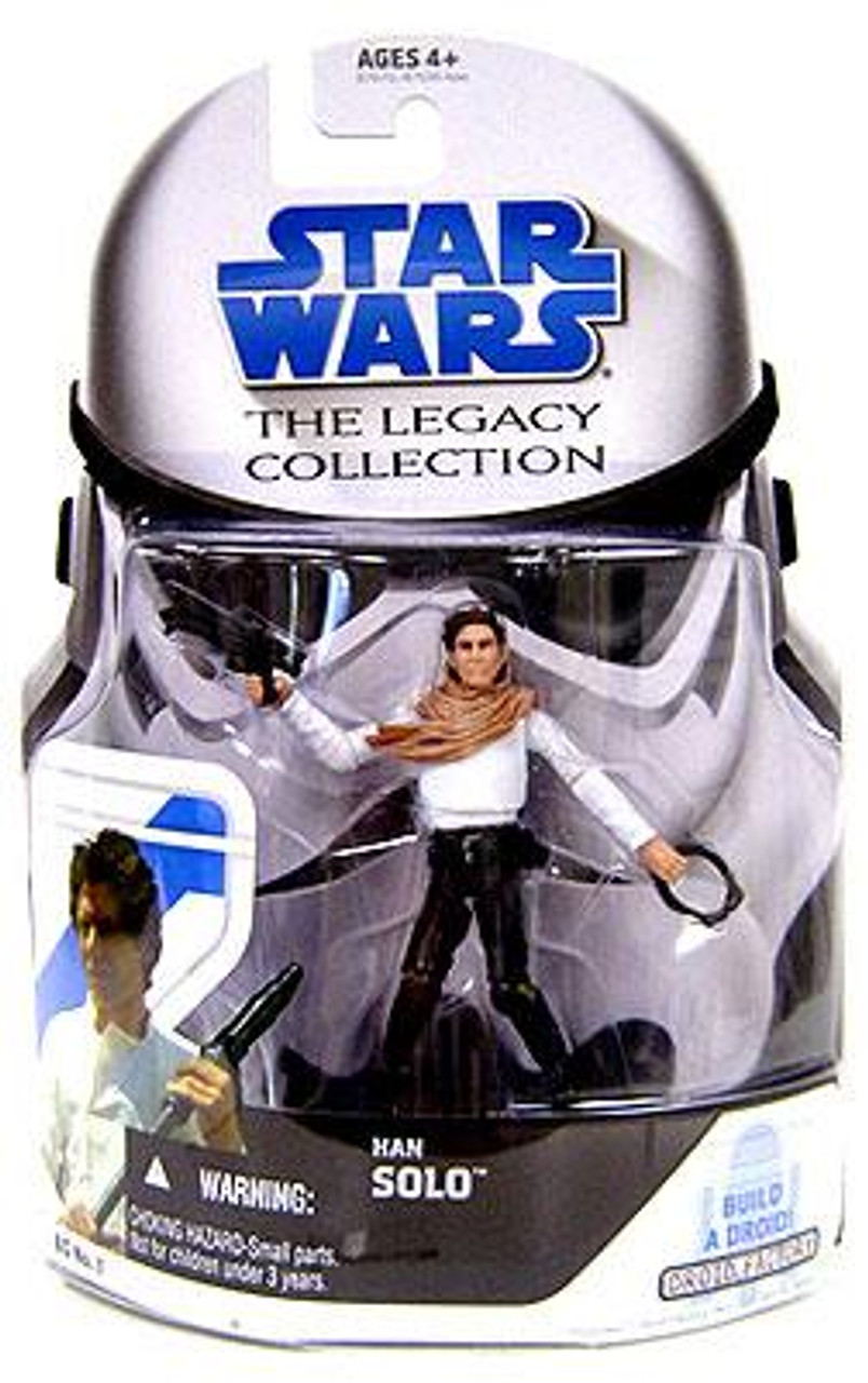 Star Wars Return of the Jedi Legacy Collection 2008 Droid Factory Han Solo Action Figure BD01 [Skiff]