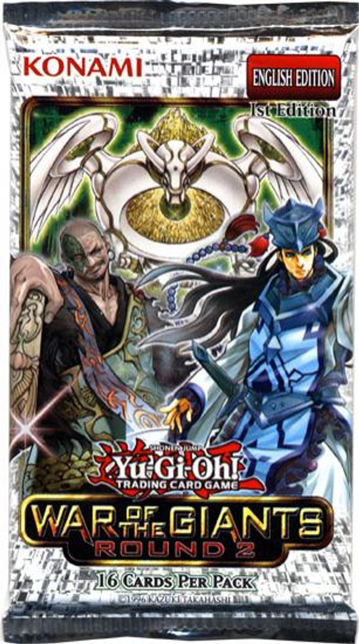 YuGiOh Battle Pack 2: War of the Giants Booster Pack