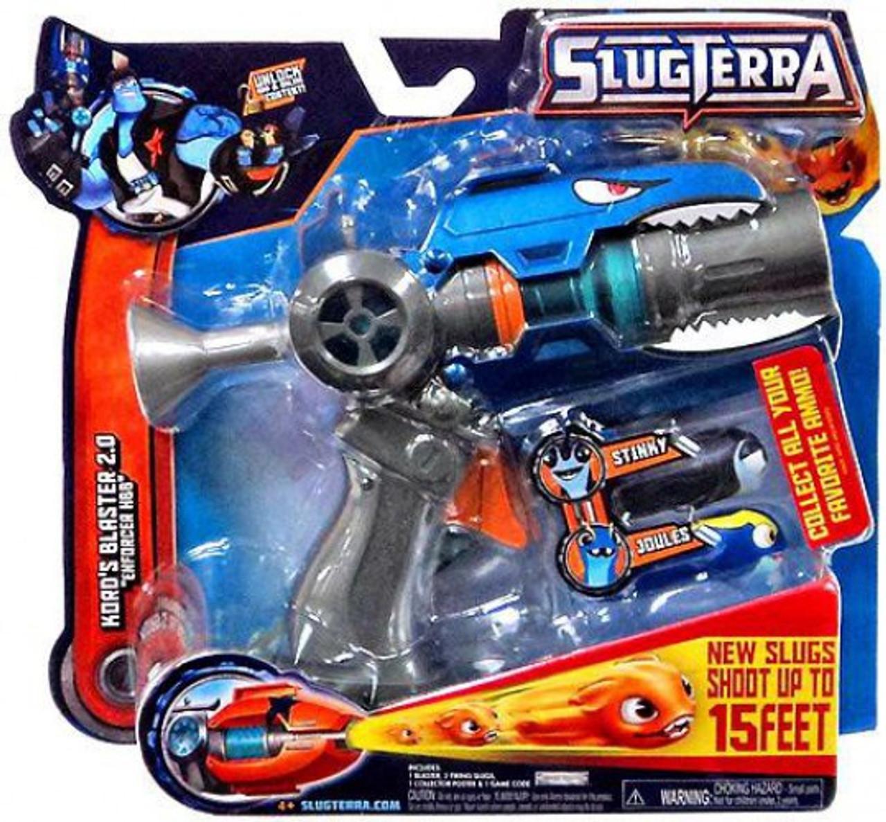 Slugterra Blaster & Evo Dart Kord's Blaster 2.0 Roleplay Toy [Enforcer HBB]