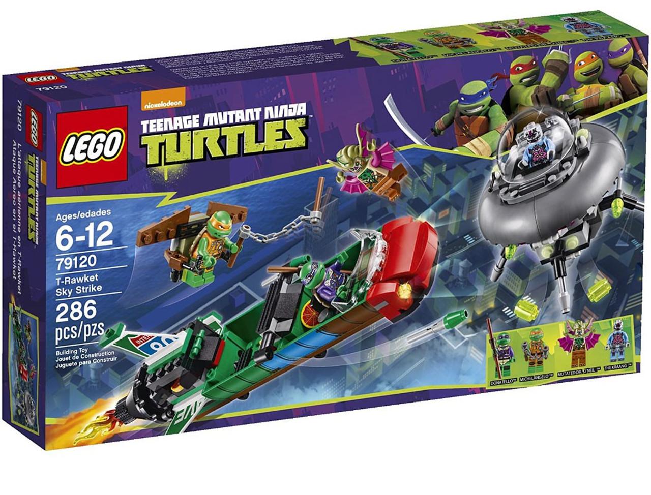 LEGO Teenage Mutant Ninja Turtles T-Rawket Sky Strike Set #79120