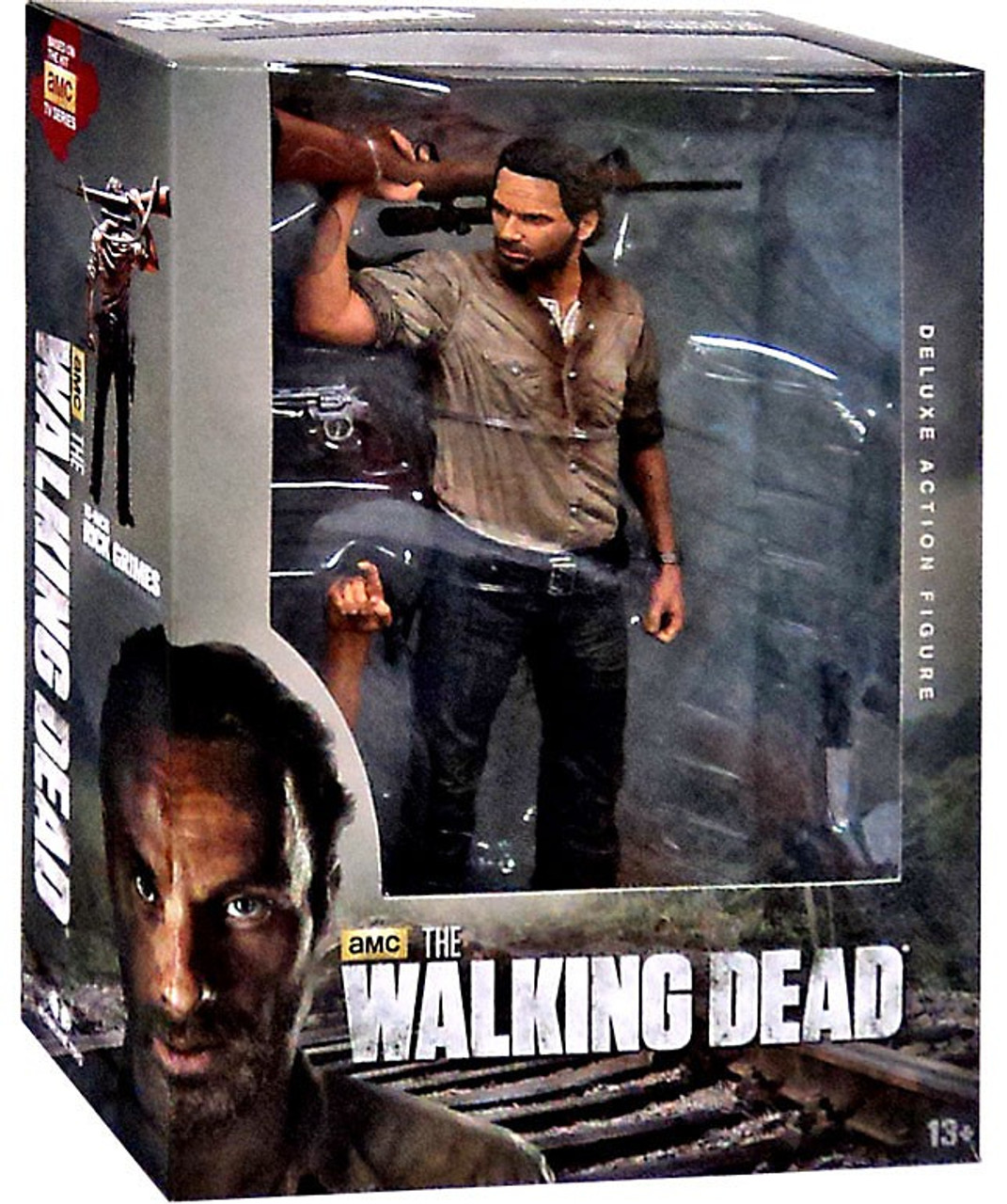 McFarlane Toys Walking Dead AMC TV Rick Grimes Deluxe Action Figure