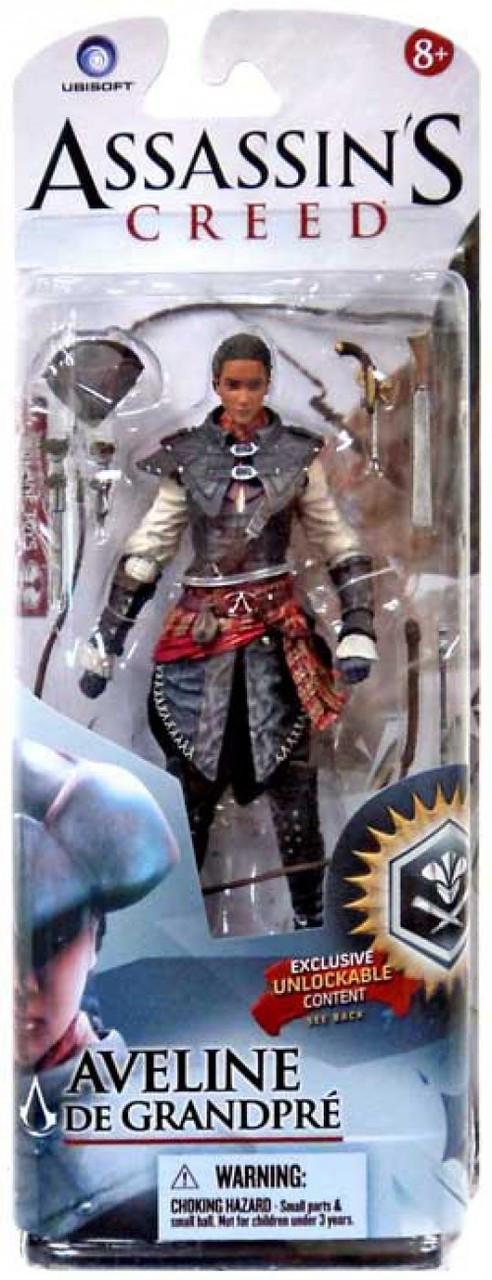 McFarlane Toys Assassin's Creed III Liberation Series 2 Aveline de Grandpre Action Figure