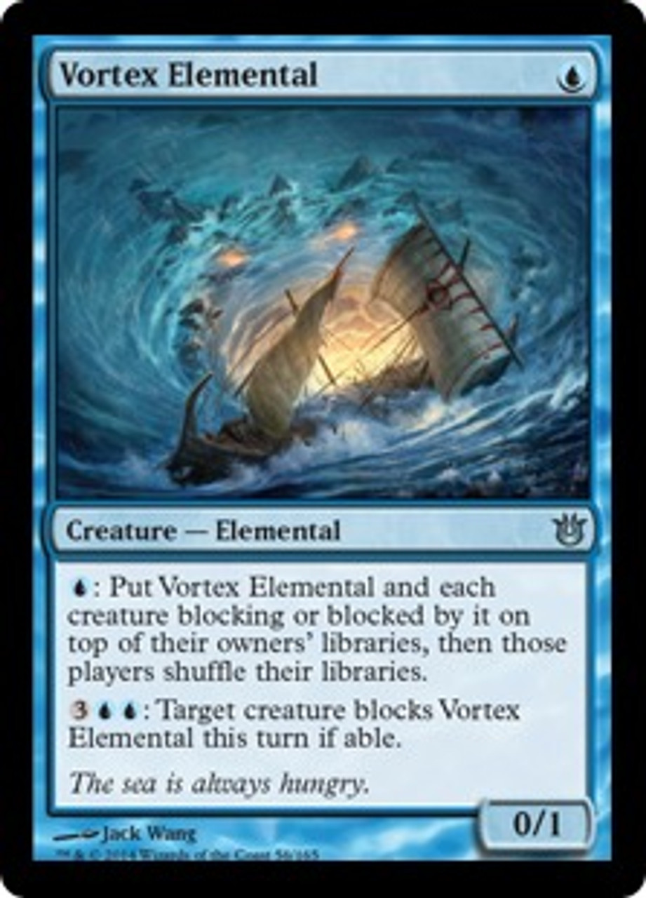 MtG Born of the Gods Uncommon Vortex Elemental #56