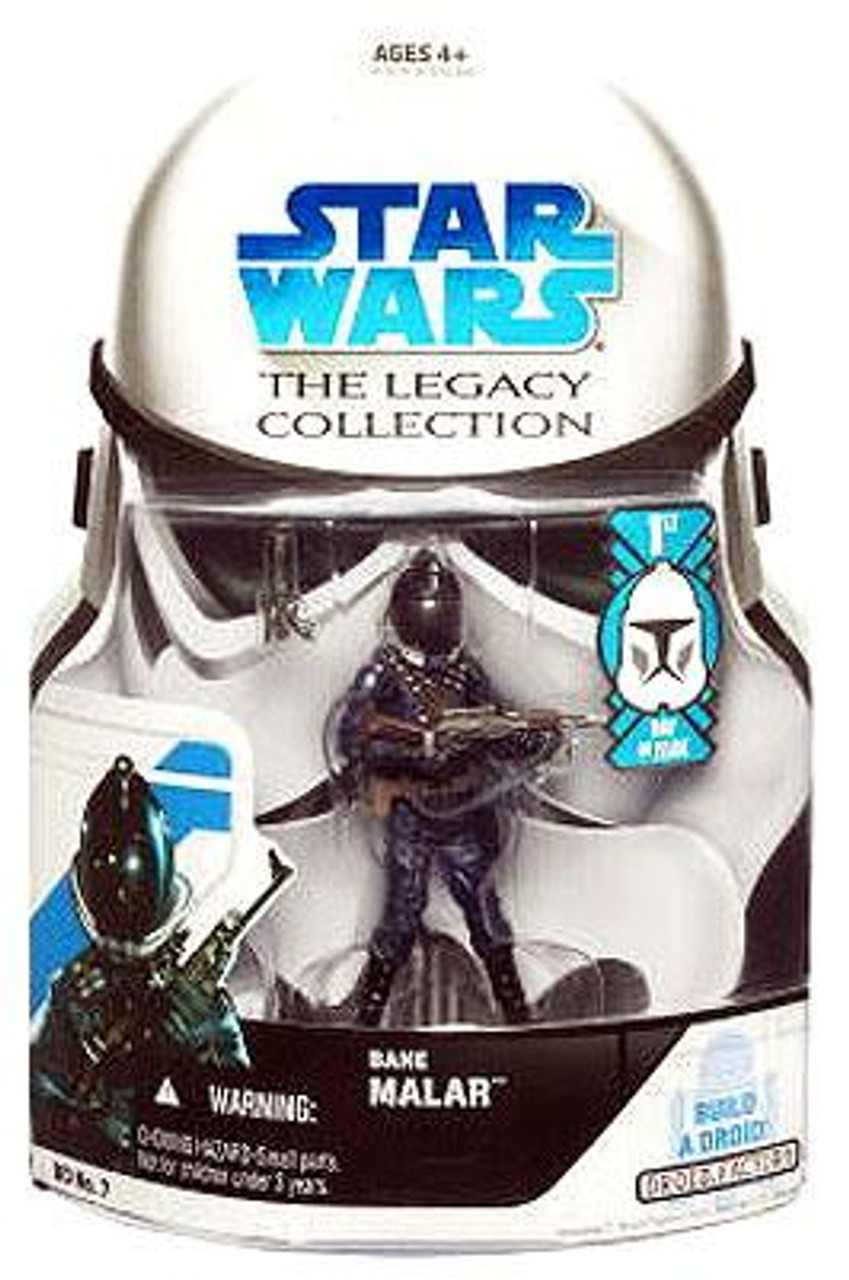 Star Wars Return of the Jedi Legacy Collection 2008 Droid Factory Bane Malar Action Figure BD07 [First Day of Issue]
