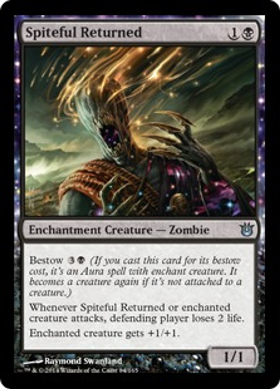 MtG Born of the Gods Uncommon Spiteful Returned #84