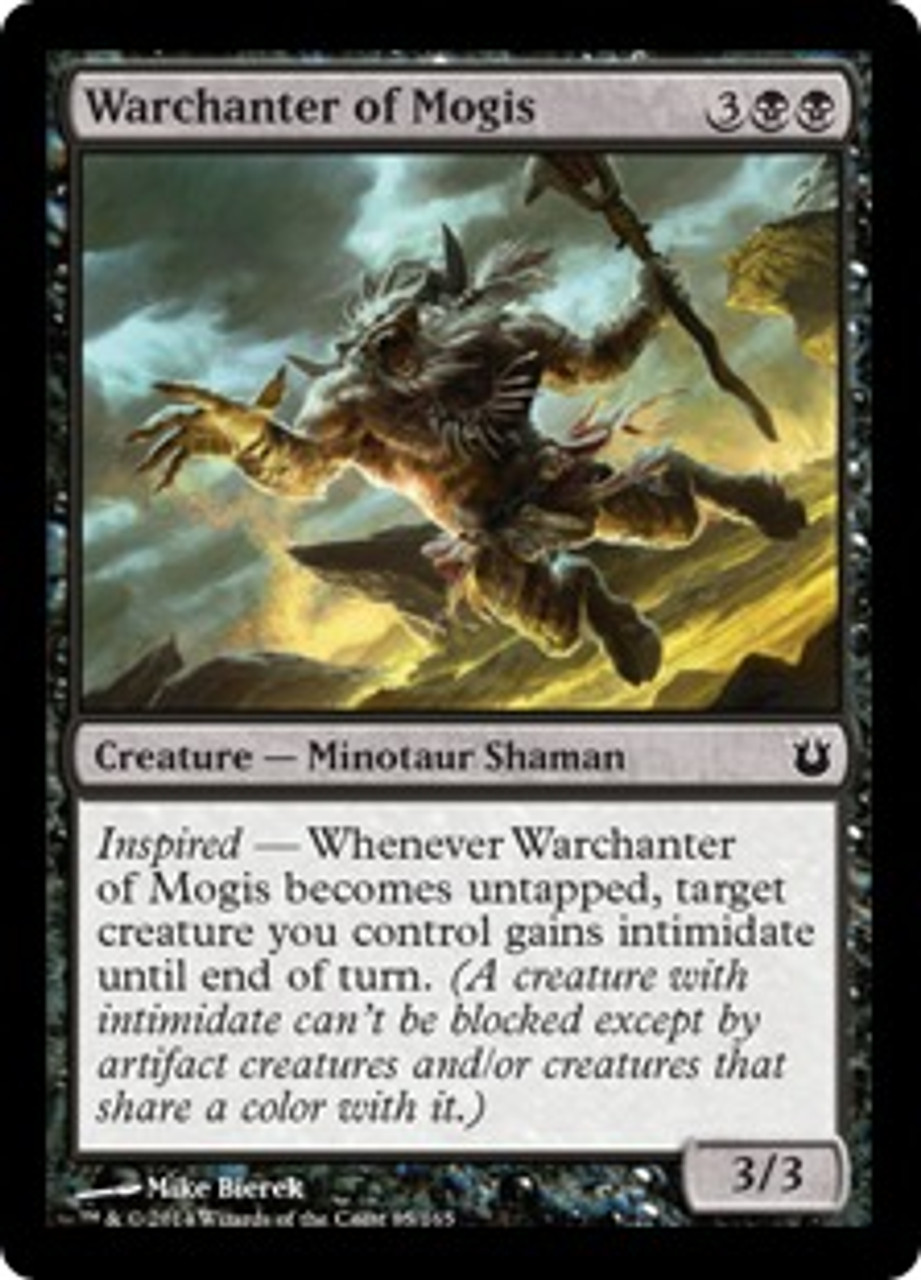 MtG Born of the Gods Common Warchanter of Mogis #85