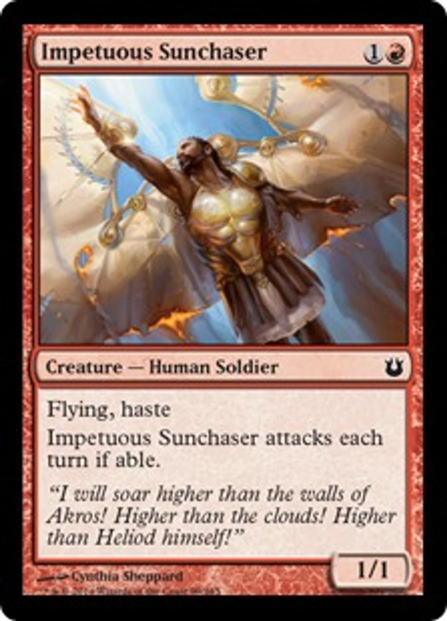 MtG Born of the Gods Common Impetuous Sunchaser #99