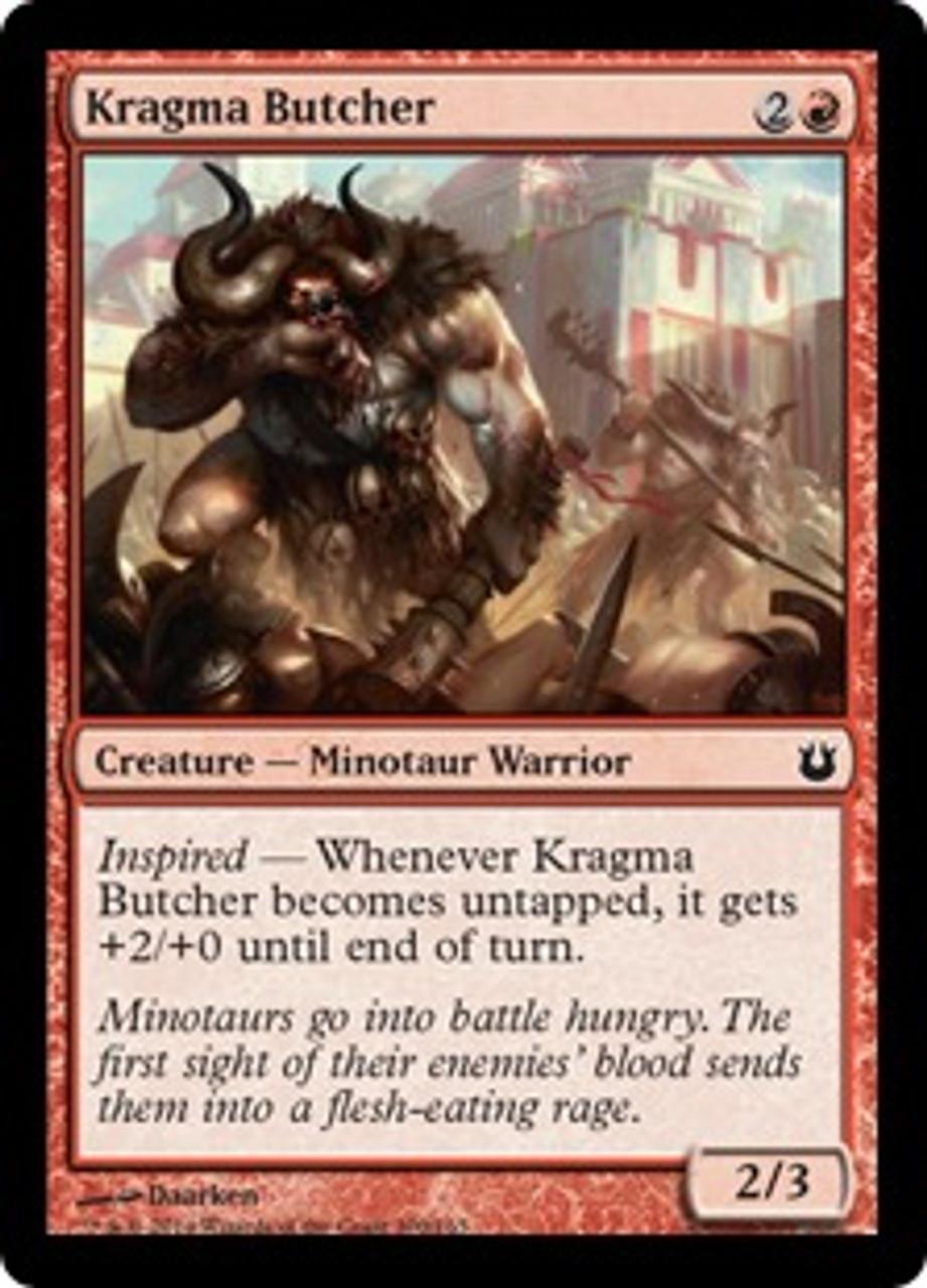 MtG Born of the Gods Common Kragma Butcher #100