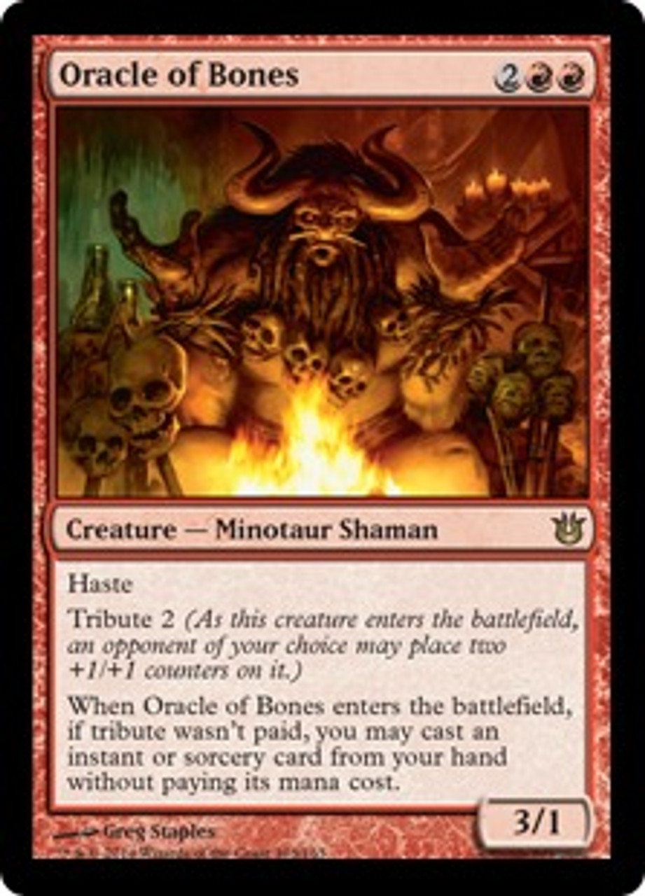 MtG Born of the Gods Rare Oracle of Bones #103