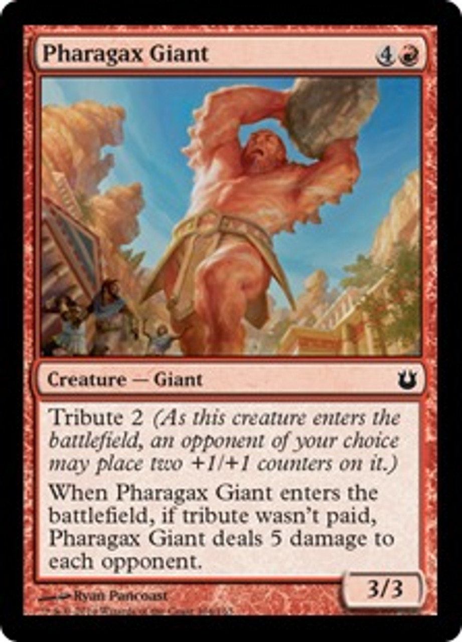 MtG Born of the Gods Common Pharagax Giant #104