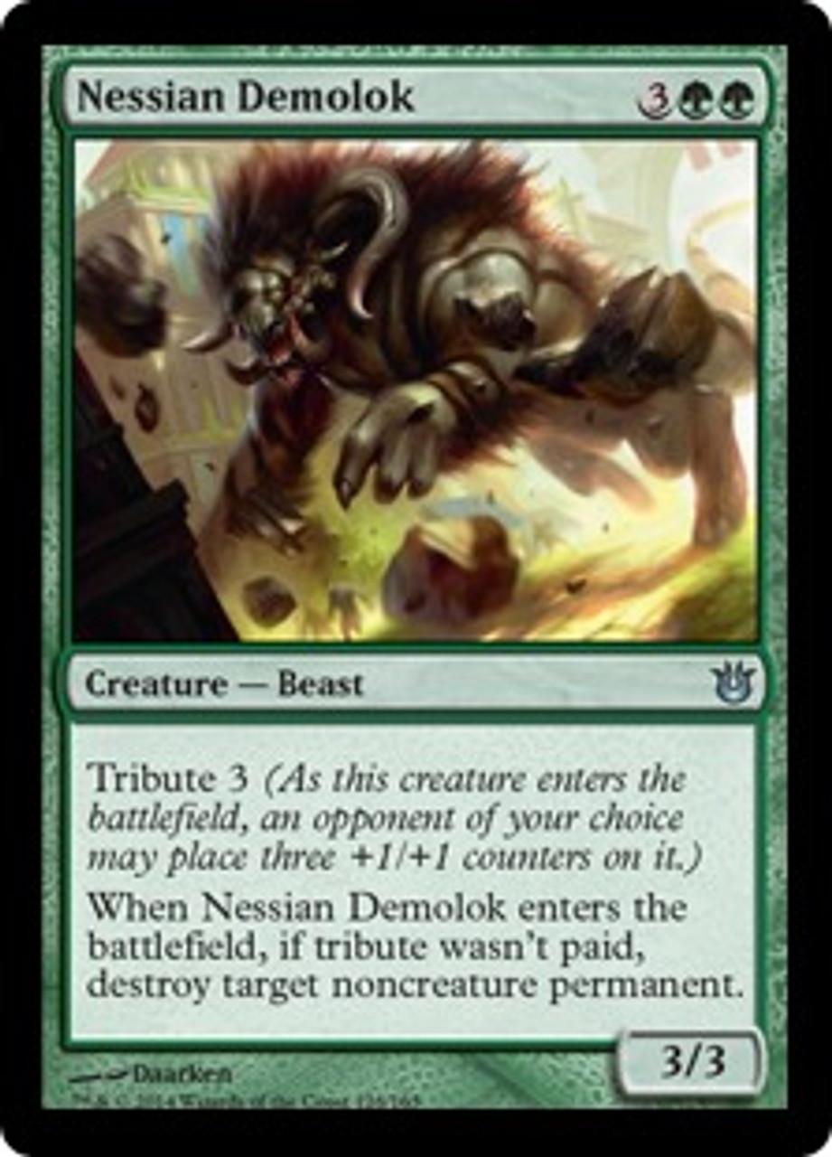 MtG Born of the Gods Uncommon Nessian Demolok #128