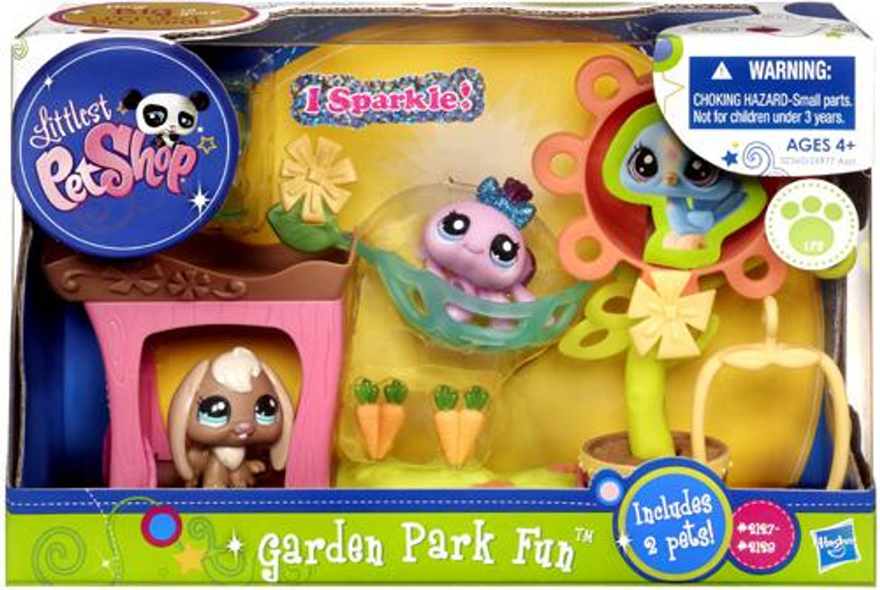 Littlest Pet Shop Garden Park Fun Playset