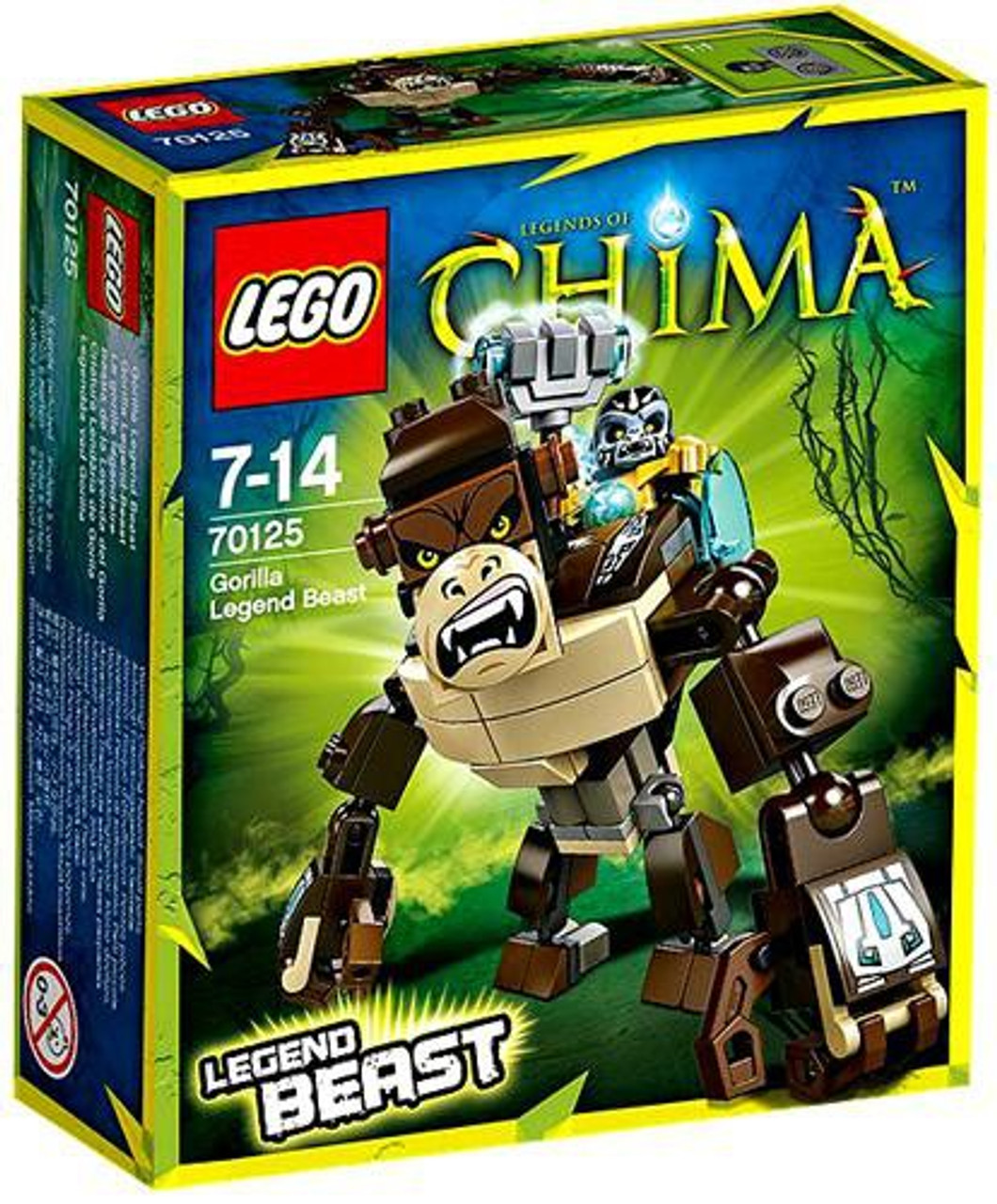 LEGO Legends of Chima Gorilla Legend Beast Set #70125