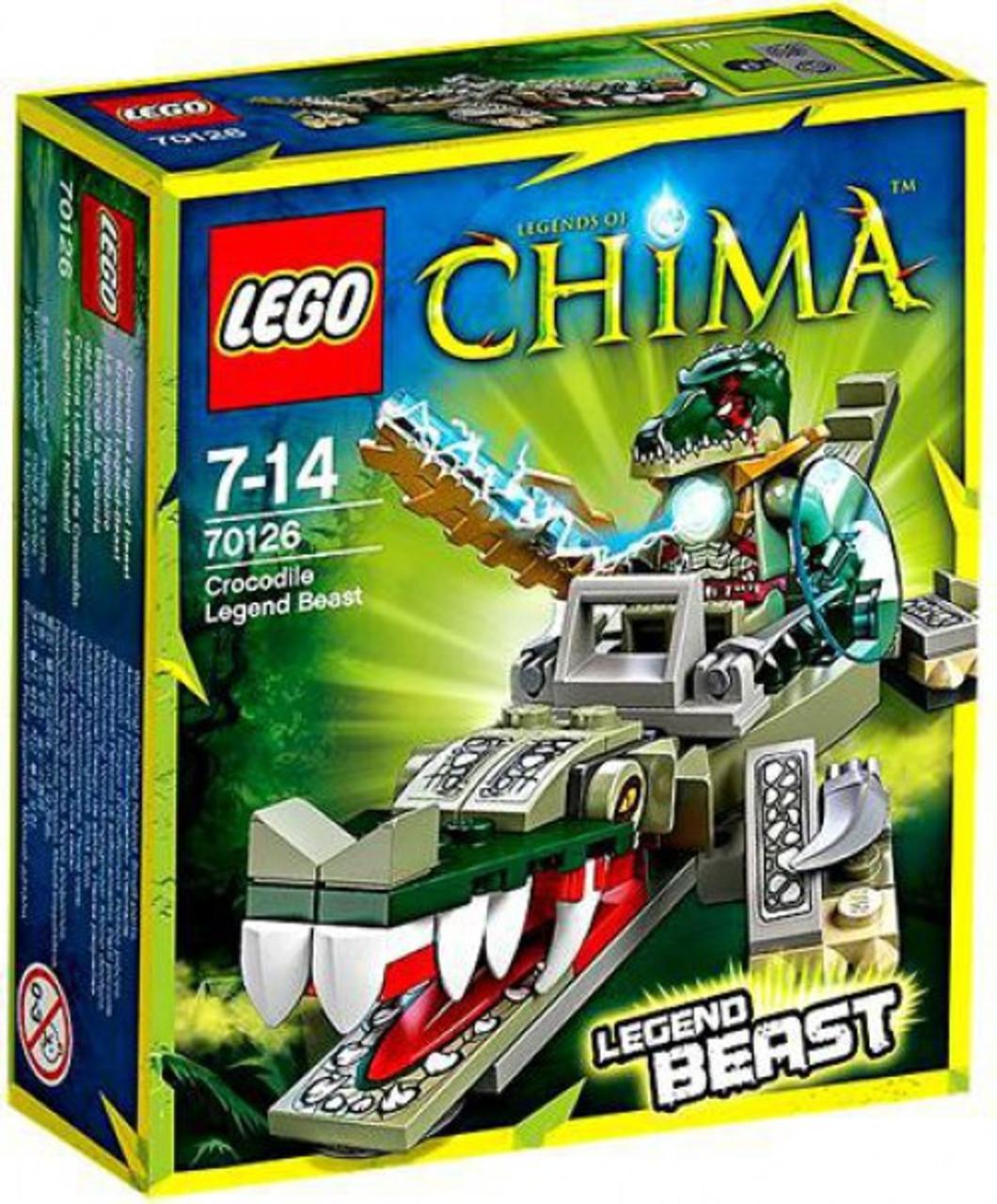 LEGO Legends of Chima Crocodile Legend Beast Set #70126