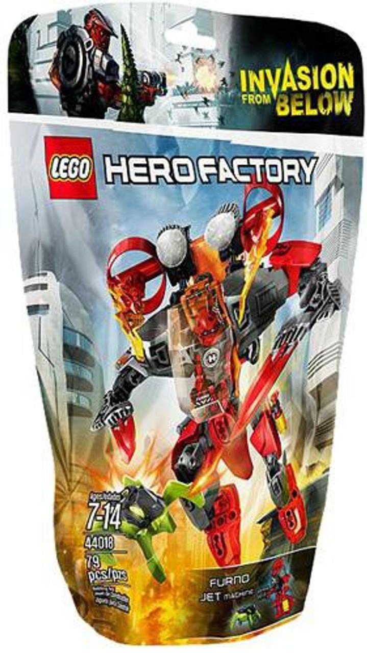 LEGO Hero Factory Furno Jet Machine Set #44018