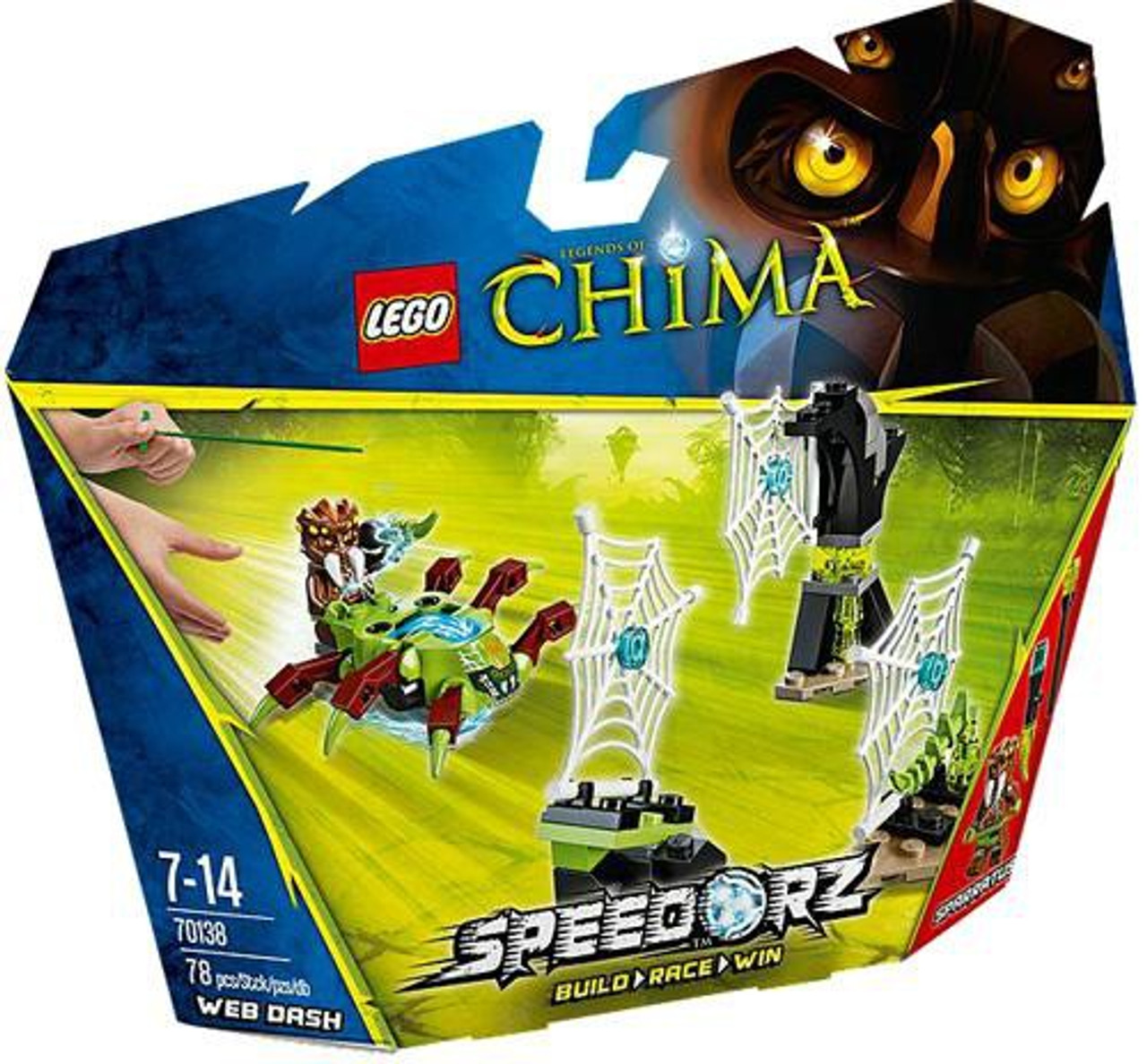 LEGO Legends of Chima Web Dash Set #70138