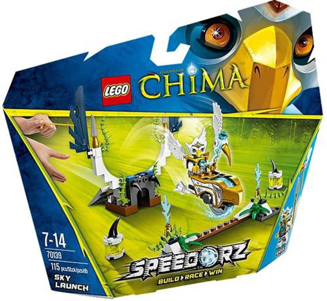 LEGO Legends of Chima Sky Launch Set #70139