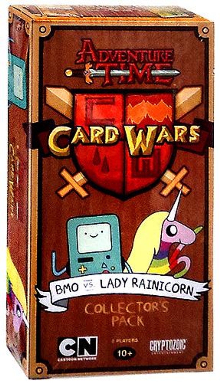 Adventure Time Card Wars BMO vs. Lady Rainicorn Collector's Pack