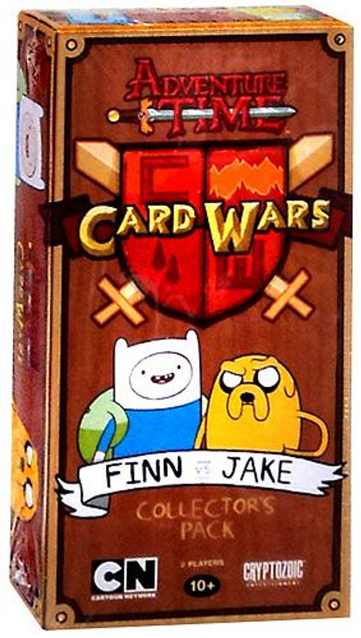 Adventure Time Card Wars Finn vs. Jake Collector's Pack