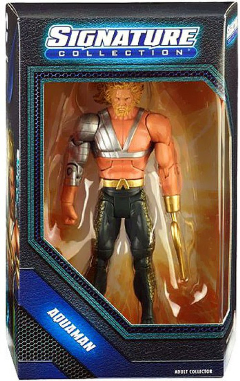 DC Universe Club Infinite Earths Signature Collection Aquaman Exclusive Action Figure [Hook]