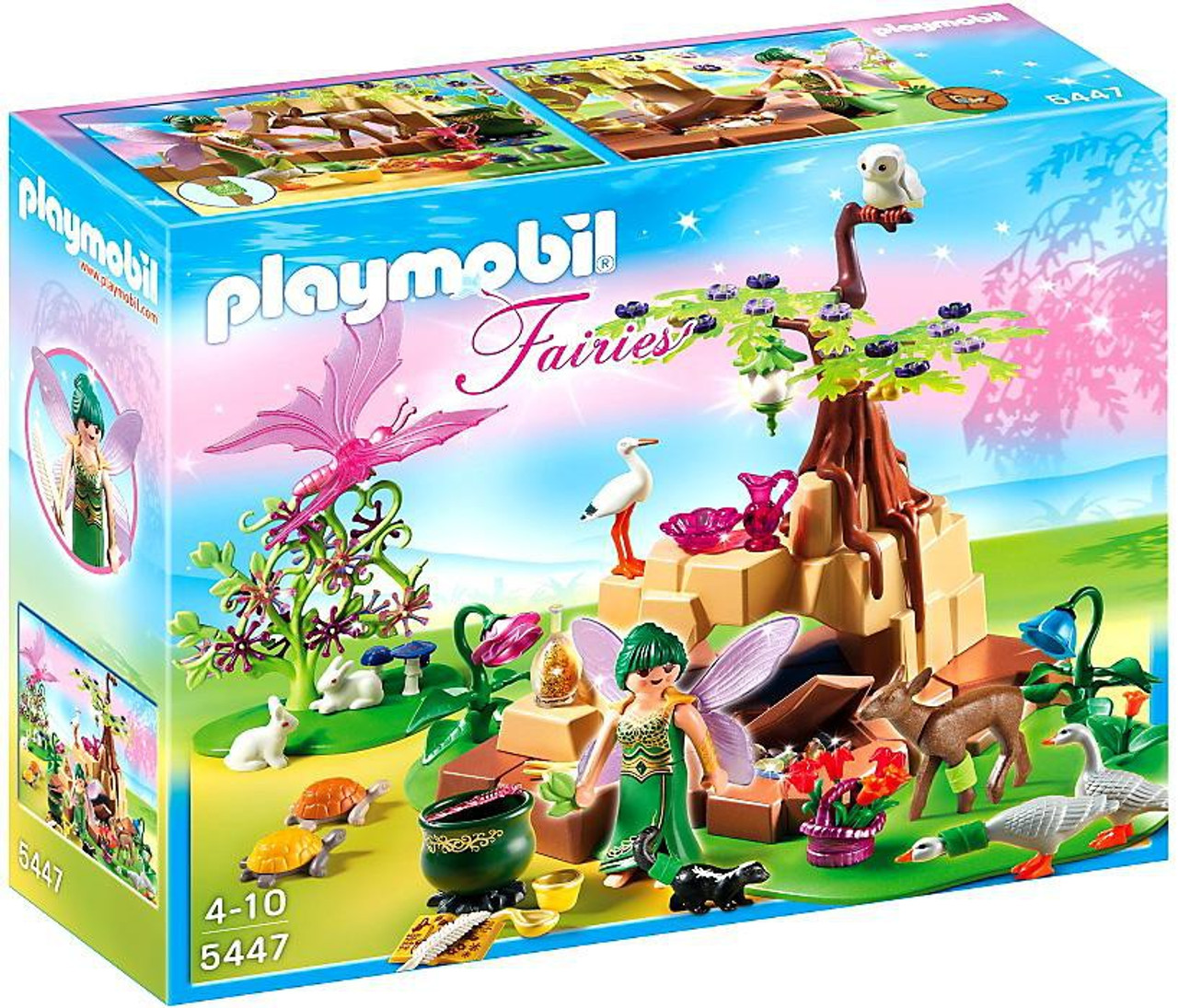 Playmobil Fairies Healing Fairy Elixia in Animal Forest Set #5447