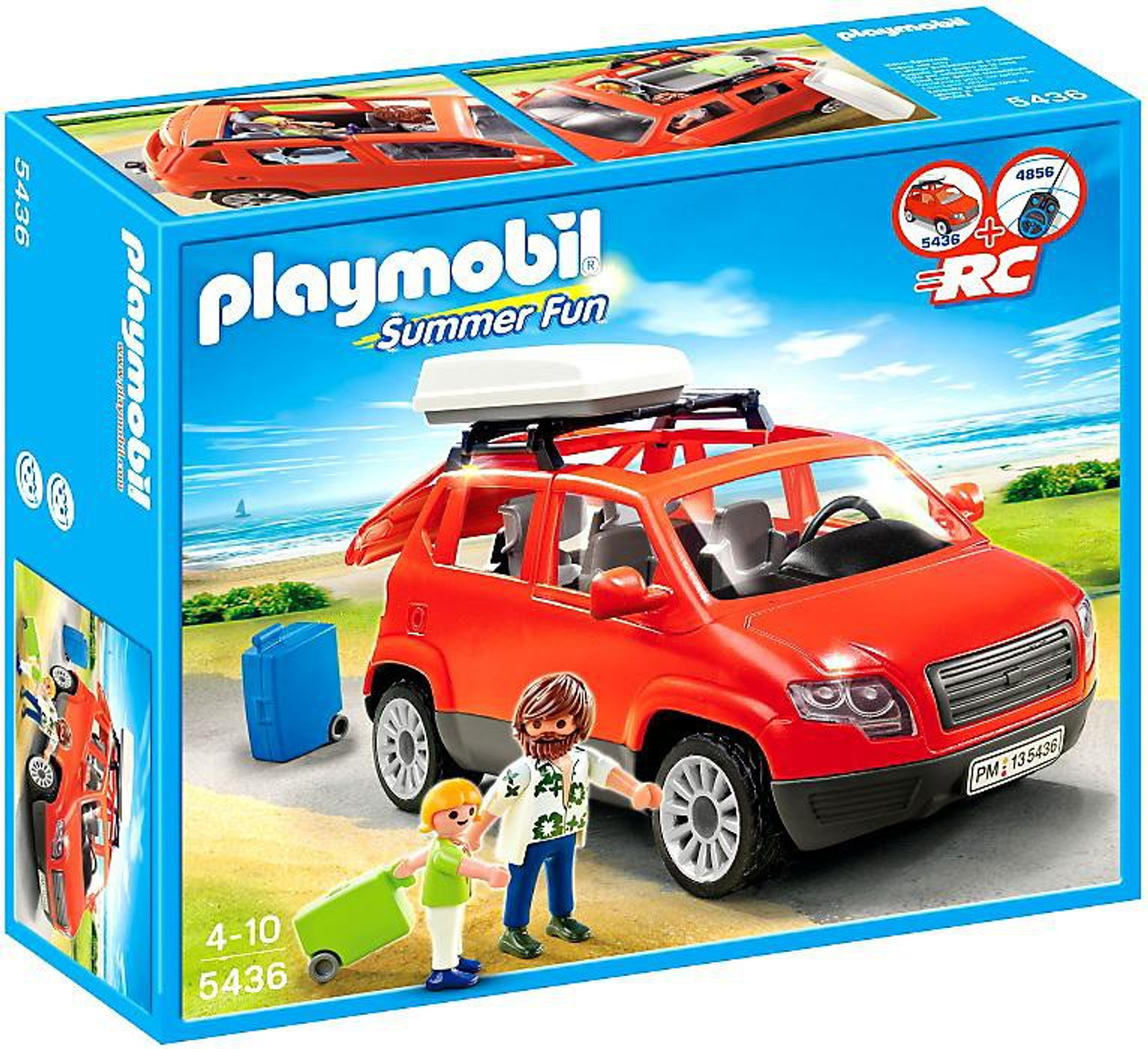 Playmobil Summer Fun Family SUV Set #5436