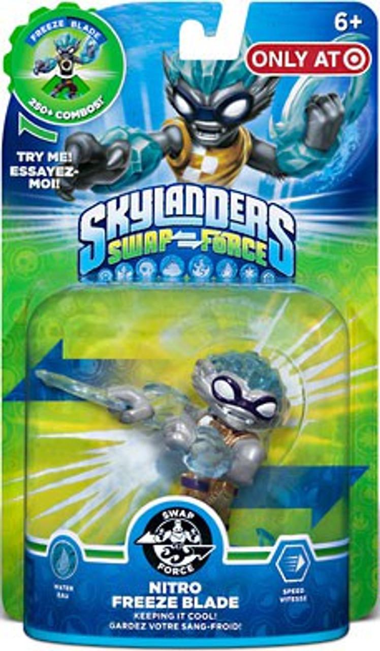 Skylanders Swap Force Swappable Nitro Freeze Blade Exclusive Figure Pack
