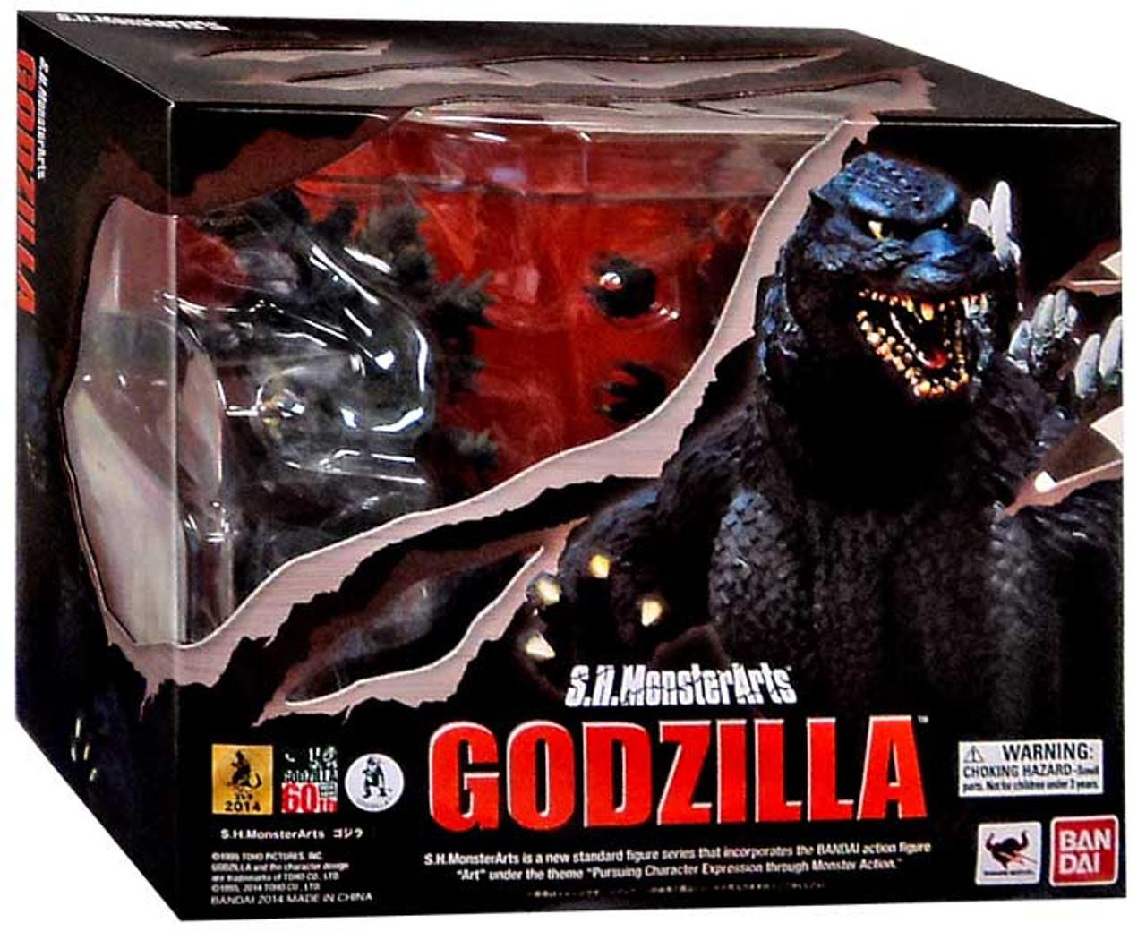 S.H. Monsterarts Godzilla Action Figure [1995 Birth]