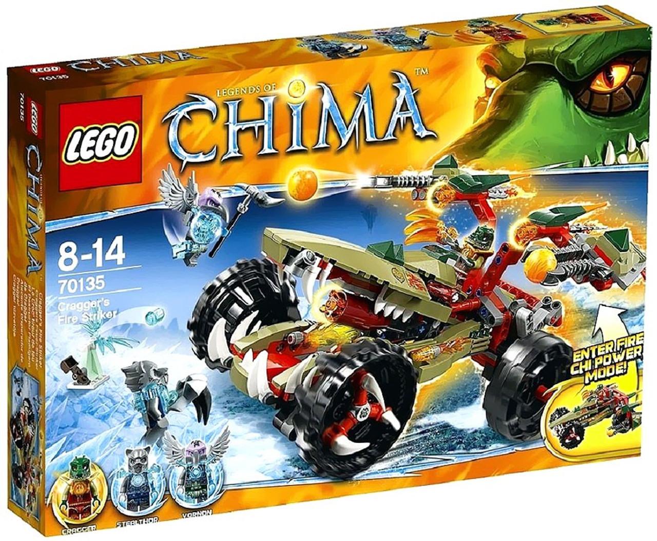 LEGO Legends of Chima Cragger's Fire Striker Set #70135