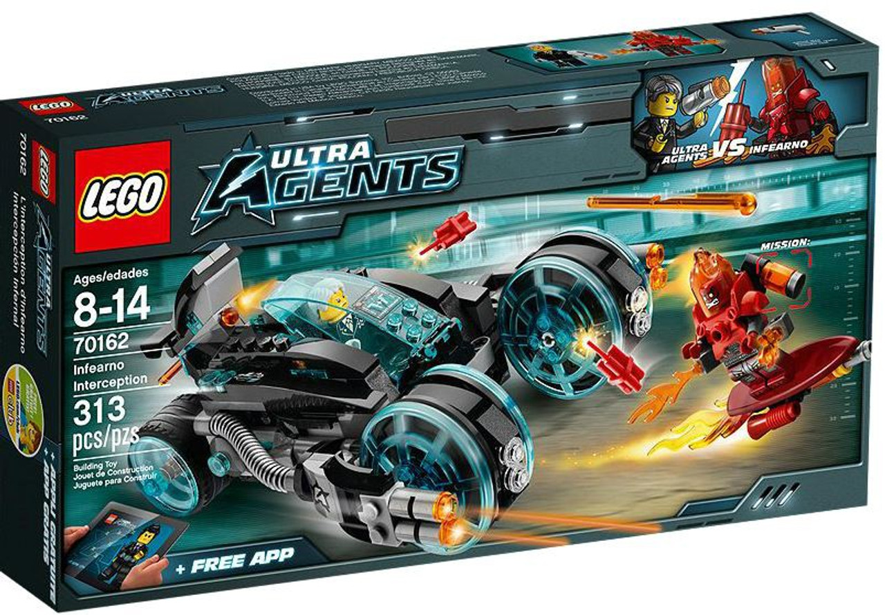 LEGO Agents Infearno Interception Set #70162