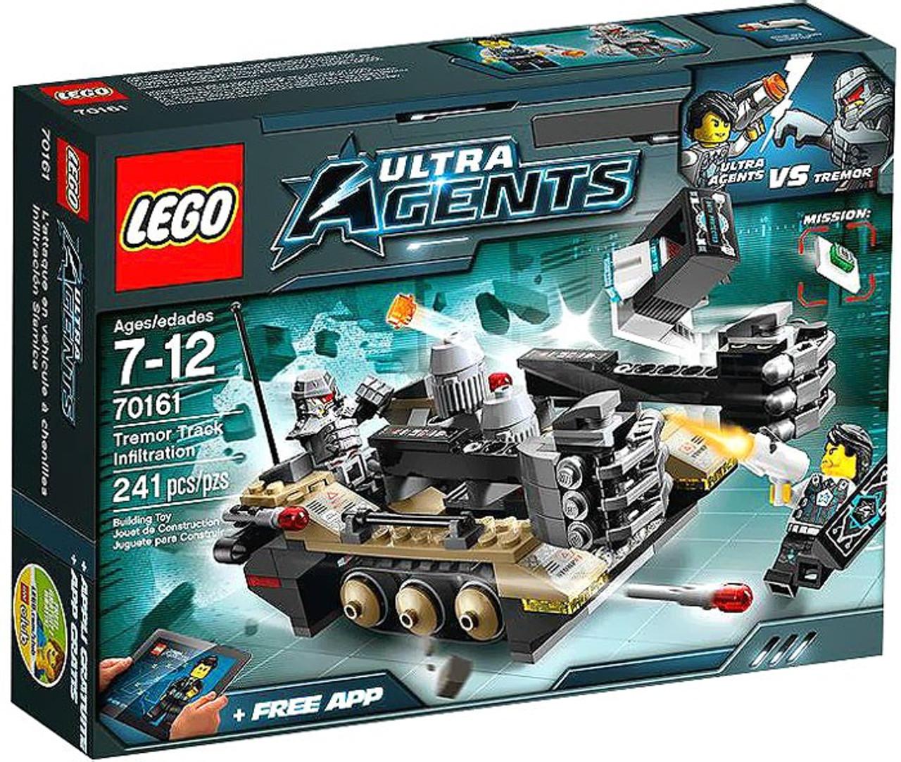 LEGO Agents Tremor Track Infiltration Set #70161