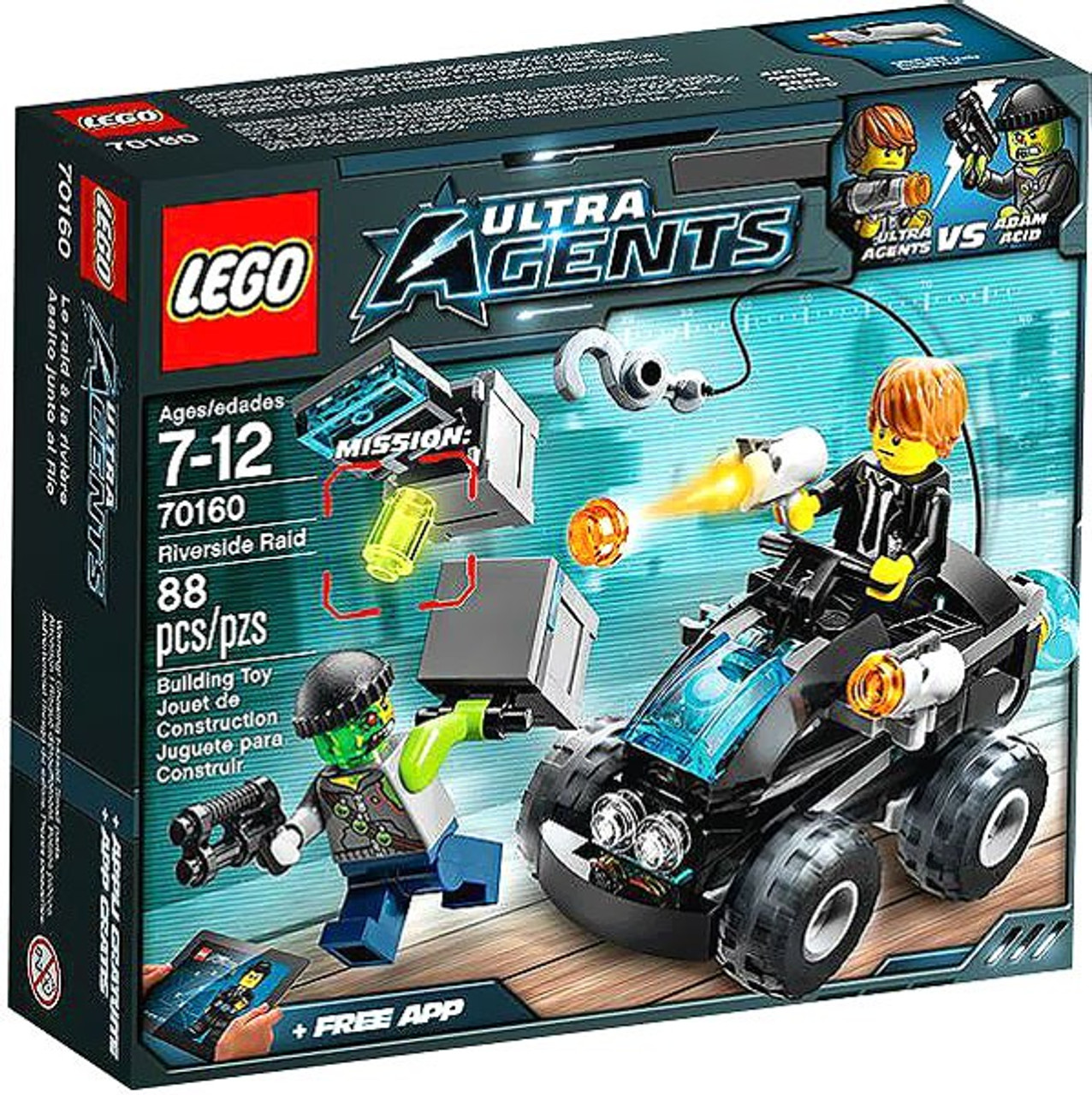 LEGO Agents Riverside Raid Set #70160