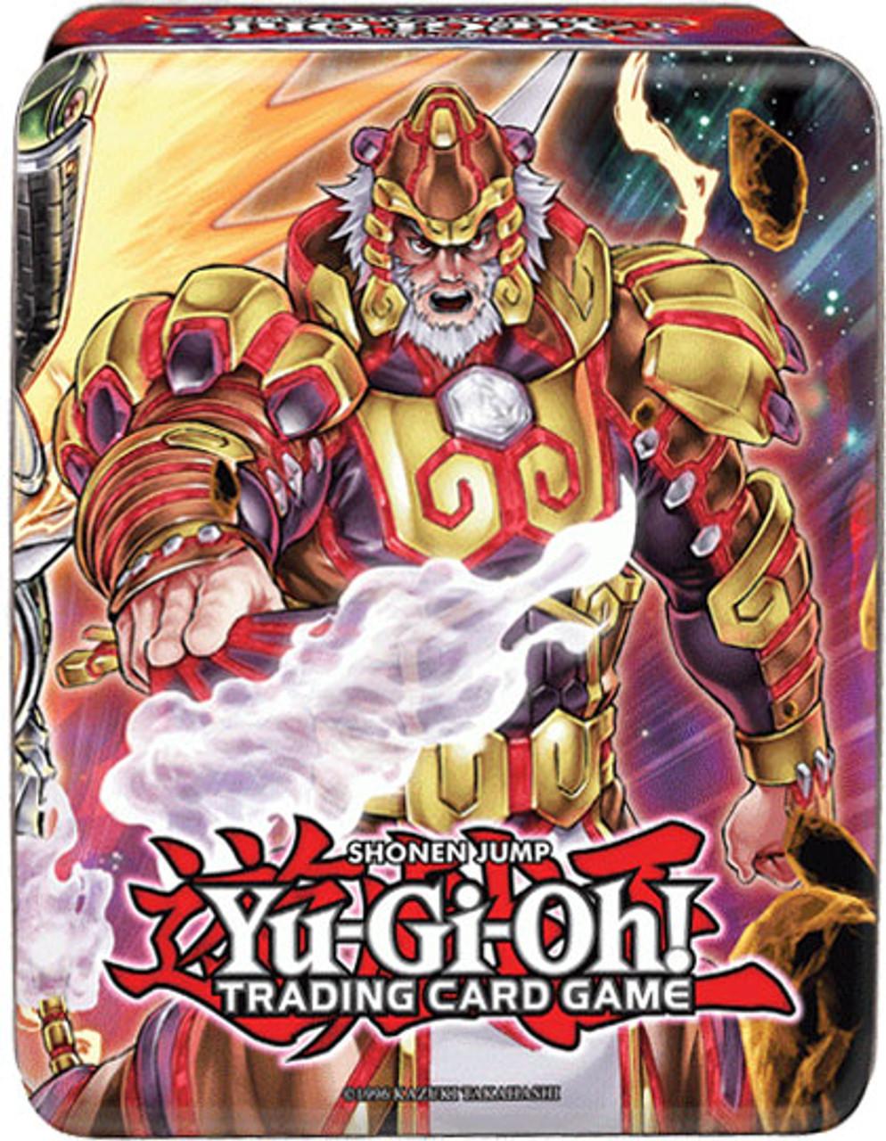 YuGiOh 2014 Collector Mega Tin Brotherhood of the Fire Fist - Tiger King Collector Tin