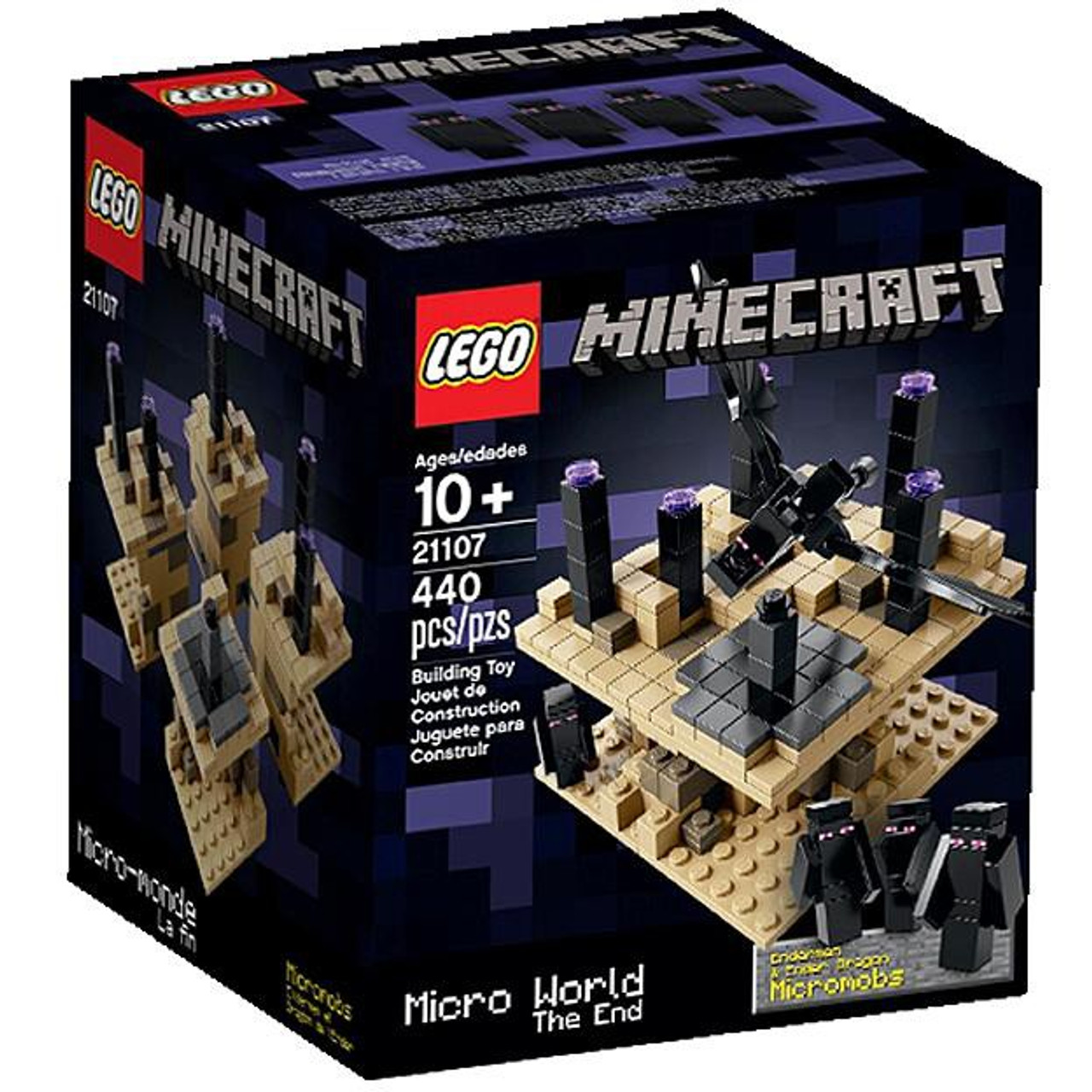 LEGO Minecraft Micro World The End Set #21107