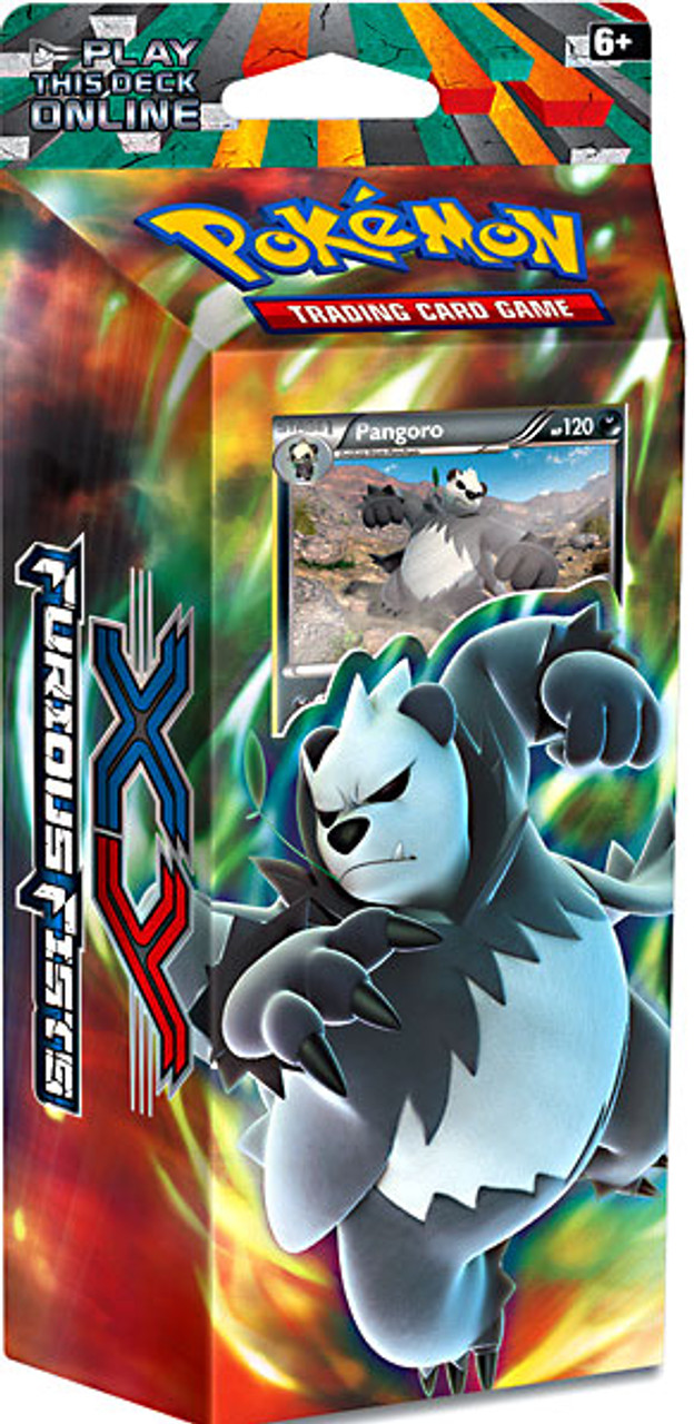 Pokemon XY Furious Fists Dark Hammer Theme Deck