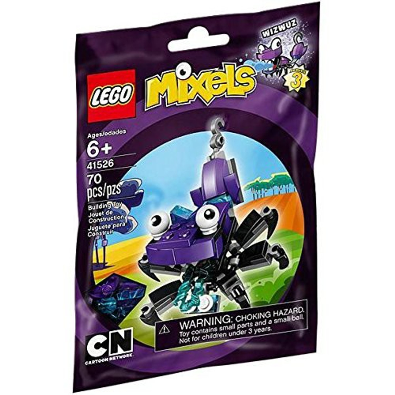 LEGO Mixels Series 3 WIZWUZ Set #41526